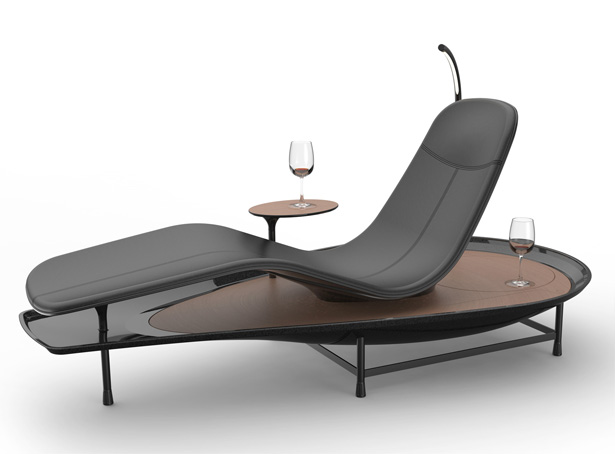 Dhyan Chaise Lounge by Sasank Gopinathan