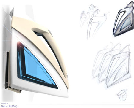 Diamantine, Wall Mounted Kettle for Your Futuristic Kitchen
