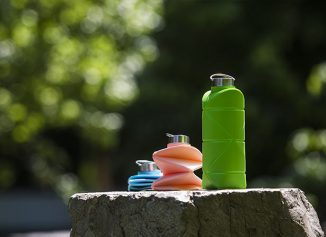 DiFold Origami Bottle Features Extremely Rigid and Stable Structure When Unfolded