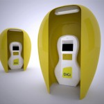 Kiosk for Digi Telecommunications Concept