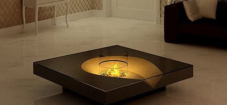 digifire burning fireplace for 22 century