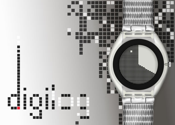 Digilog Watch : A Unisex Watch That Was Inspired by Yin and Yang Philosophy