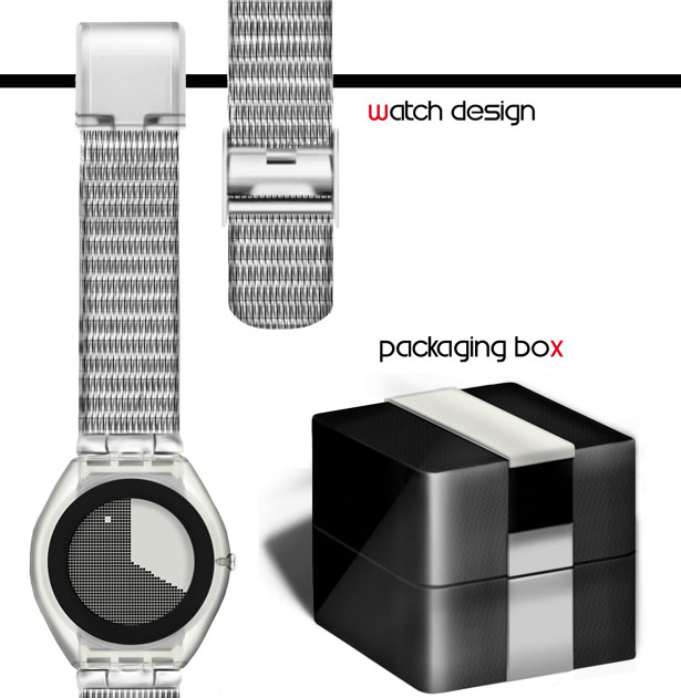 Digilog Watch by Nazuk Keshan
