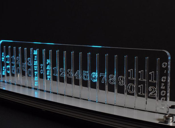 Digital Clock NIXIE Style