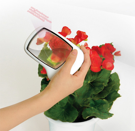 LUPE : Digital Camera for Magnifier Concept