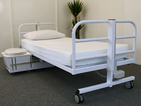 Dignity Bed Has Been Designed To Enhance Patients' Independence