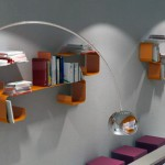 Futuristic Dimensional Shelves