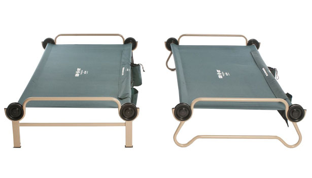 Disc-O-Bed Cam-O-Bunk Cot : A Nice Bed for Your Outdoor Adventure