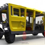 Dispatch Utility Vehicle for Underground Mine Environment