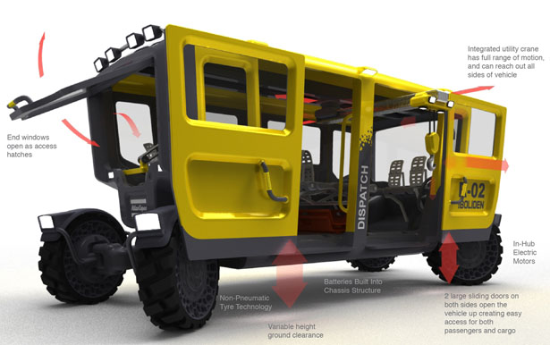 Dispatch Utility Vehicle by William van Beek