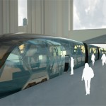 Elegant Diveria Modular Train Concept by Christian Gumpold
