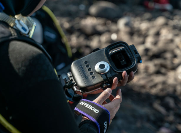 DIVEROID - a Diving Computer Transforms Your Smartphone into All-in-One Diving Gear