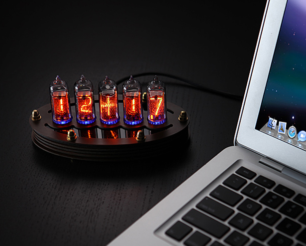 Cool DIY Nixie Tube Clock Kit with an Alarm Function - Tuvie