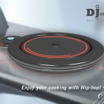 DJ Cooker Combines Cooking and Music Playing Into Cooking Machine