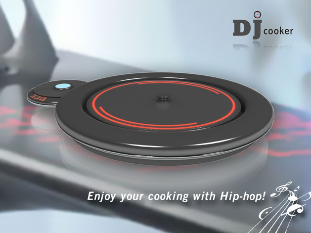 DJ Cooker by Li Jinhui