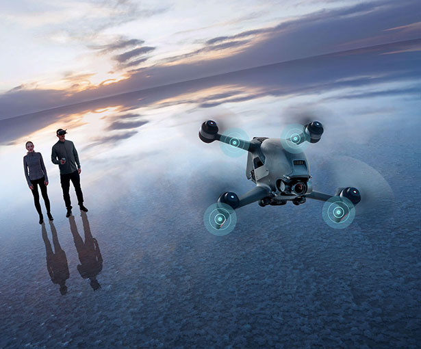 Immersive Flying Experience with DJI FPV Drone