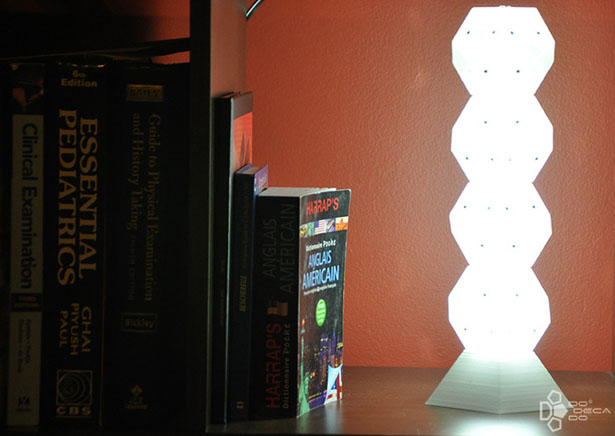 Dodecado Block of Light by Ledamp Industries