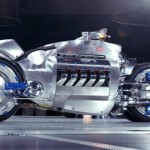 Futuristic Dodge Tomahawk Motorcycle Concept