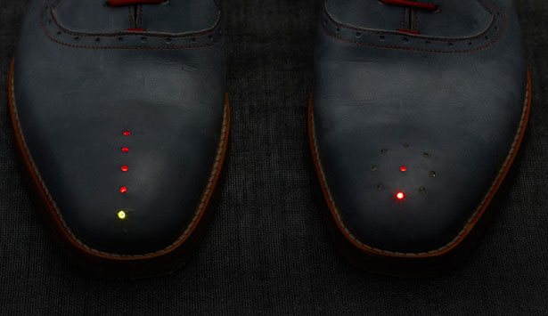 Dominic Wilcox GPS Shoes Navigate You to Go Home Wherever You Are