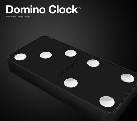 Domino Clock by Carbon Design Group