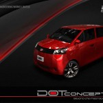 Dot Concept Car Was Designed and Developed in Collaboration with Sazgar Company