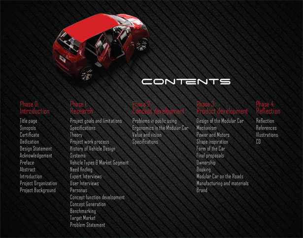 Dot Concept Car by Tahir Shafiq and Mubashar Hassan