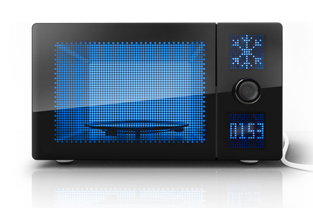 Dot Matrix Microwave by WAACS Design