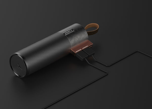 Double E Portable Battery Uses Kinetic Energy to Recharge by Zheming Zhou