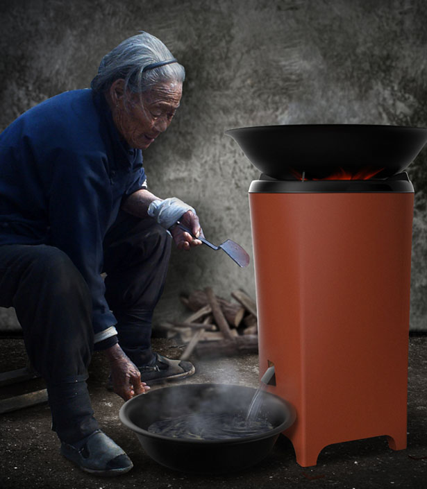 Double Warm : Eco-Friendly Coal Stove Inspired by Ancient Chinese Culture