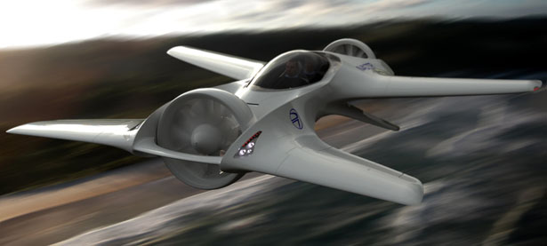 DR-7 VTOL Aircraft by DeLorean Aerospace