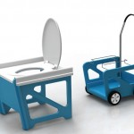 D.R. Toilet System : Disaster Relief Flat Pack Toilet System by Rahim Bhimani