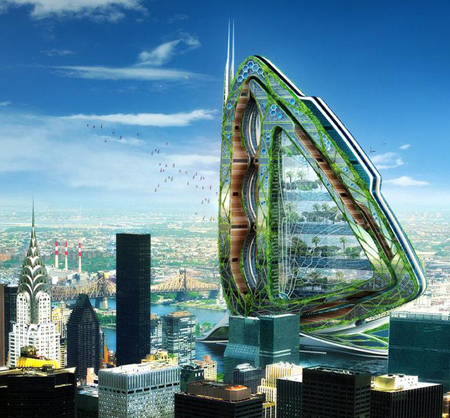 dragonfly vertical farm for future new york