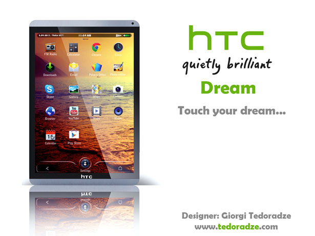 Dream Concept Tablet by Giorgi Tedoradze