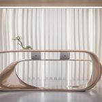 Drevva Reception Desk Was Inspired By The Beauty of Tree Growing Forms