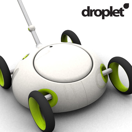 Droplet electric lawnmower for small lawn tuvie - Lawn mower for small spaces decor ...