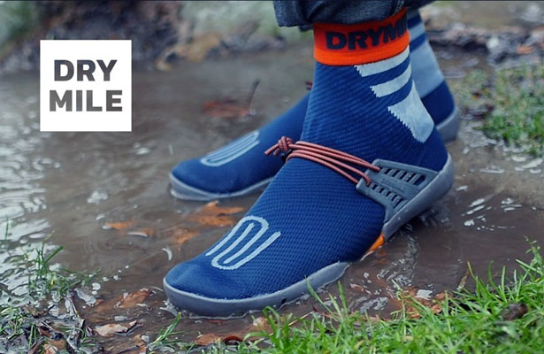 DRYMILE - 100% Waterproof Packable Sock Shoes