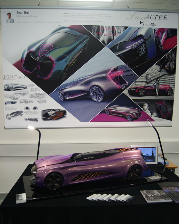 DS Luxe Autre Concept Car Was Inspired by The Beauty of Female Body