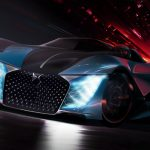 DS X E-TENSE ASYMETRIC Concept Car For 2035