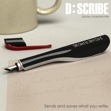 d:scribe digital fountain pen