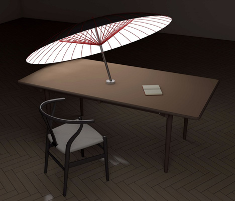 Day Shade Night Light Umbrella