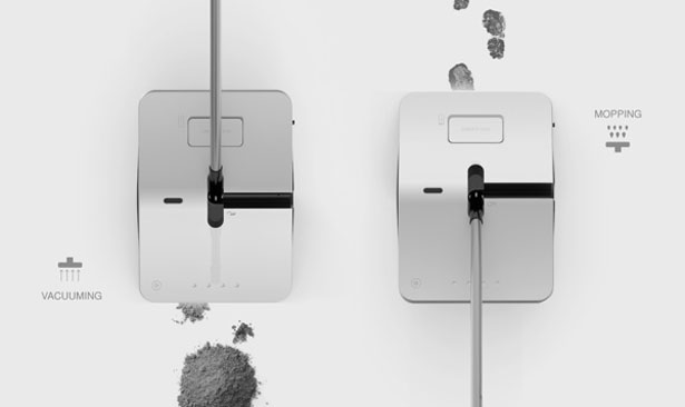 Dual Cleaner Vacuum by Jung Hyun Min