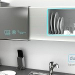 DualWash : Two Sided Dishwasher Doubles as Kitchen Cabinet