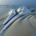 Dubai Opera House and Cultural Centre by Zaha Hadid