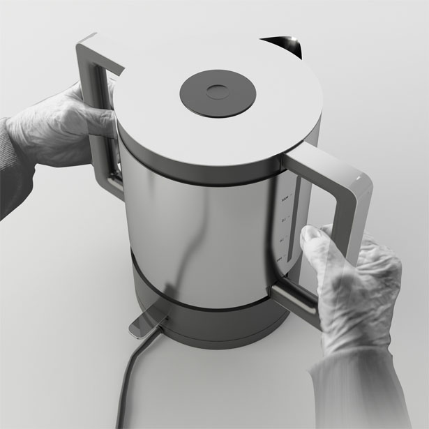 Due Kettle by Nur Yildirim