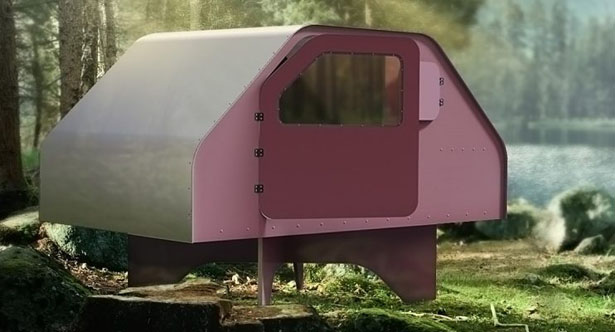 Duffy Mobile Flat-Packed Shelter by Duffy London