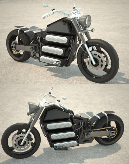 Duka Electric Motorcycle Combines Traditional Look With Advanced Electric Components