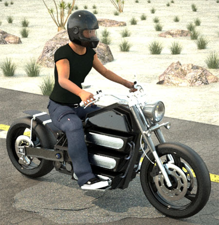 Duka Electric Motorcycle Combines Traditional Look With