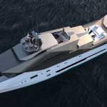 Dune 90 Explorer Superyacht Is Inspired by Stealth Frigates and Swerving Dunes
