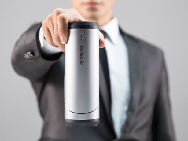 DUOECHO: Hi-Fi Bluetooth Stereo Speaker with Magnetic Design