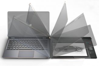 DuoFlip NoteBook Computer Can Flip Its Screen Into a Large Digital Drawing Pad